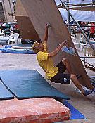 Tino Lois, vencedor de la prueba, en el primer bloque.- Foto: Jairo Pandiella