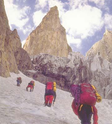Lady Finger, Valle de Hunza (Karakorum)