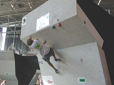 Chris compitiendo en Munich, donde quedó primero.- Foto: www.pareti.it