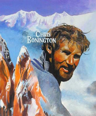 Retrato de Chris Bonington