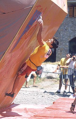 Dani Andrada compitiendo en Benasque. Foto: archivo Desnivel