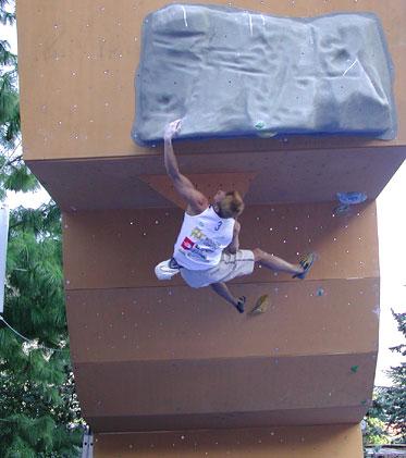 Tomas Olesky, segundo clasificado en Arco.Foto: Andrea Gennari Daneri