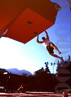 Mauro compitiendo en Gap, donde acabó segundo.Foto: www.onemove.it (la web de Mauro)
