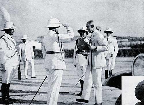 El Duque pasa revista en Mogadisco