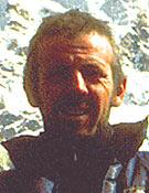 Rubén Aramendía el pasado otoño durante la expedición a la norte del Jannu - Foto: fermín Izco
