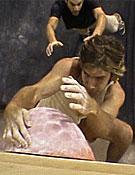Compitiendo (y ganando) en el circuito PCA. Foto: www.climbxmedia.com