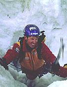 """Valery Babanov durante su primer intento al Meru Central en mayo 2001 - Foto: <a href=""""http://www.babanov.com""""> babanov.com </a>"""