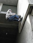 Uno de los numerosos pasos abiertos en los edificios de la Universidad de British Columbia, Vancouver, Canadá.Foto: www.buildering.net