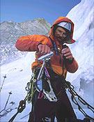 Lionel Daudet en la norte del Cervino - Foto: Marc Rebuttini/AZO
