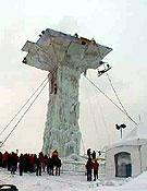 La imponente estructura de la competición.Foto: www.iwc-quebec.com