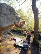 Roca de excelente calidad + belleza del entorno + ambiente fanático = ¡Meschia!Foto: www.onemove.it