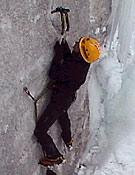 Otra toma de Cecilia sobre el hielo de Shagadelic, M7 <br> Foto: Col. C. Buil
