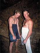Con su buen amigo Klem Loskot.Foto: www.udini.com