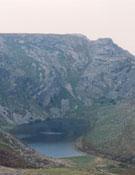 Lago Truchillas visto desde Peña Negra