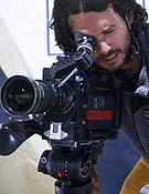 Aitor Bárez en el Campamento base del Everest.Foto: Col. Bárez.