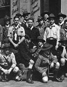 Viaje a Roma con los boy scouts en 1950. - Foto: Archivo Anglada.