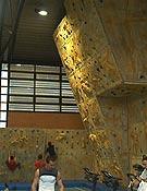 Rocódromo del gimnásio municipal de Sabadell.Foto: Top 30