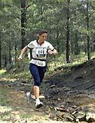Ani Muñoz, vencedora de la prueba femenina.Foto: Tomás Serra
