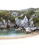 Una de las numerosas playas de Llanes.Foto: www.raidsdeaventura.com