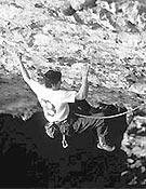 Rikar Otegui encadenando Iñi Ameriketan, 9aFoto. Col. Otegui