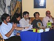 Acto de presentación de los libros ganadores del IV Premio Desnivel de Literatura <br>Archivo Desnivel