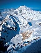 El Mt. Foraker desde el Denali - Foto: Marko Prezelj