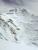 Cara oeste del Lhotse - Foto: Jerónimo López