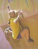 Sandrine Levet, campeona de la Copa del Mundo 2001.Foto: Desnivel