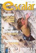 Portada de la revista Escalar nº28 ~ (agosto 2002)
