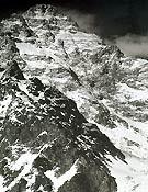 La cara oeste del K2 fotografiada en 1909
