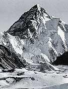 Vertiente sur del K2 en 1909. Tres décadas después, Wiessner y Wolf lanzaron su tentativa