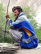 Sher Ajman fallecía el pasado dia 13, arrastrado por un alud - Foto: Exp. Española K2 2002