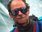 "El alpinista sueco Göran Kropp  ~ Foto: <a href=""http://www.kroppaventyr.se/""> kroppaventyr.se</a>"