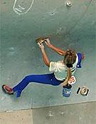 Natalia Perlova, nueva campeona de la Copa del Mundo de Escalada en Bloque. Foto: www.planetmountain.com