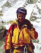 """El solitario alpinista ruso Valeri Babanov - Foto: <a href=""""http://www.babanov.com """">babanov.com </a>"""