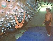 El laboratorio del duo mutante. Ramonet entrenando bajo la dirección de David Macià  ~ Archivo Desnivel