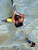 Liberando Salathé Wall en 1995 - Foto: huberbuam.de