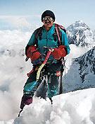 Krzysztof Wielicki en la cara sur del Annapurna ~ Col. K. Wielicki