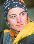 La catalana Emma Roca se proclamó Campeona de España 2003 en Baqueira-Beret.  ~ Archivo Desnivel