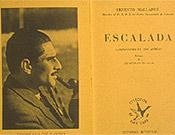 El mítico libro de Mallafré, primer tratado de escalada publicado en España (1948). - Foto: Col. Agustín Faus