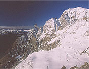 Integral de Peuterey, una clásica de Alpes. - Foto: Sebastián Álvaro