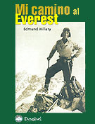Portada de Mi camino al Everest, de Edmund Hillary (Ediciones Desnivel)  ~ Archivo Desnivel