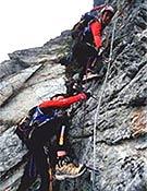 Prueba con cuerda en plenas X-adventure Raid Series.  ~ raidseries.com