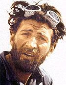 Hermann Buhl, uno de los tres que cuenta con dos primeras a ochomiles: Nanga y Broad Peak. <br>Foto: De cero a 8.000, de K. Diemberger