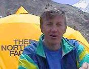 Denis Urubko ha liderado hoy mismo el cuarteto kazajo que conseguía la primera cima del cincuentanario del Nanga Parbat. - Foto: russianclimb.com