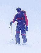 """Jean C. Lafaille durante su ascensión al Nanga Parbat, que culminó ayer en la cima con Ed Viesturs, tras abrir nueva ruta con Simone Moro. - Foto: <a href=""""http://www.jclafaille.com"""">jclafaille.com</a>"""