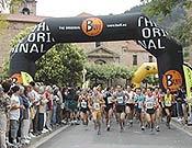 Salida de la II Maratón de Montaña Zegama-Aizkorri, en la localidad de Zegama, comarca guipuzcoana de Goierri. - Foto: Archivo FEDME