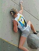 Sandrine Levet compitiendo en Lecco 2003, Copa del Mundo, el pasado junio. - Foto: ragnilecco.com