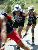 Espectacular toma de una sección de patines en línea. - Foto: raidseries.com