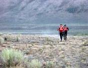 La travesía nocturna a la cima del Porphyry Peak (White Knob Mountains) rompió definitivamente la carrera. Sólo los dos primeros la completaron sin penalizaciones. - Foto: raidseries.com